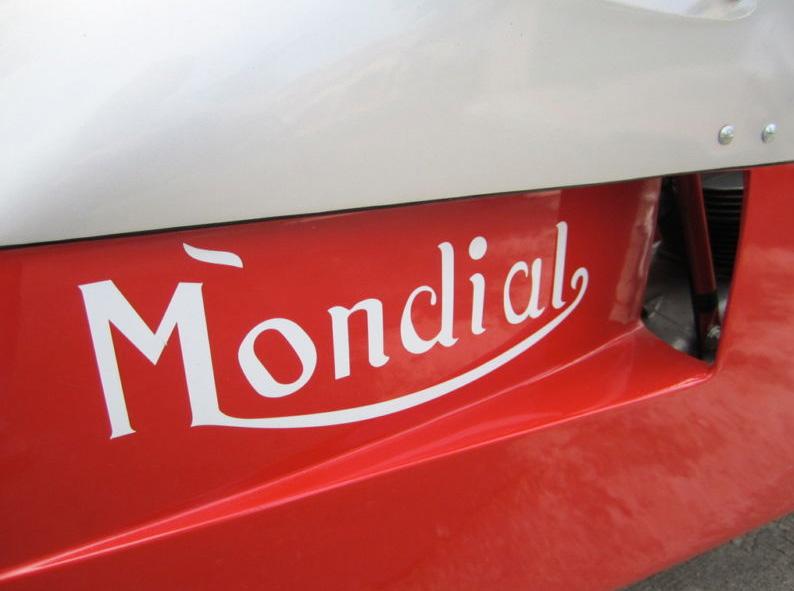 1954/1960 Ducati Mondial Race Bike