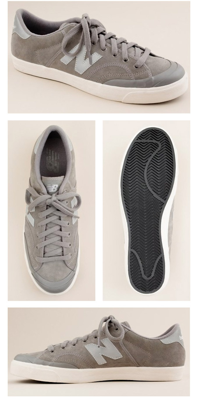 The Larry David :: New Balance Suede ProCourt Sneakers