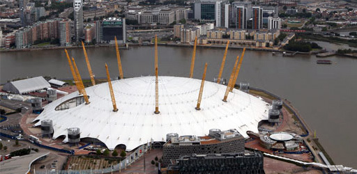 New aerial photos of London 2012 Olympic Games venues