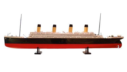 Titanic Model Ship. Moss. Azimute