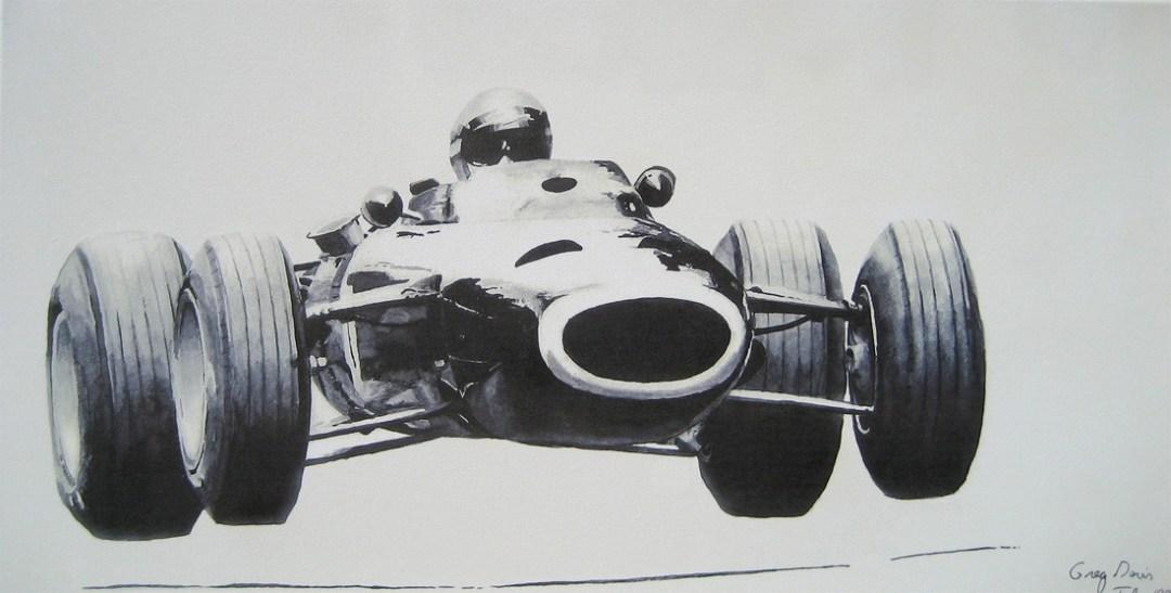 Pflugplatz - Vintage Formula Car Racing Art :: Etsy