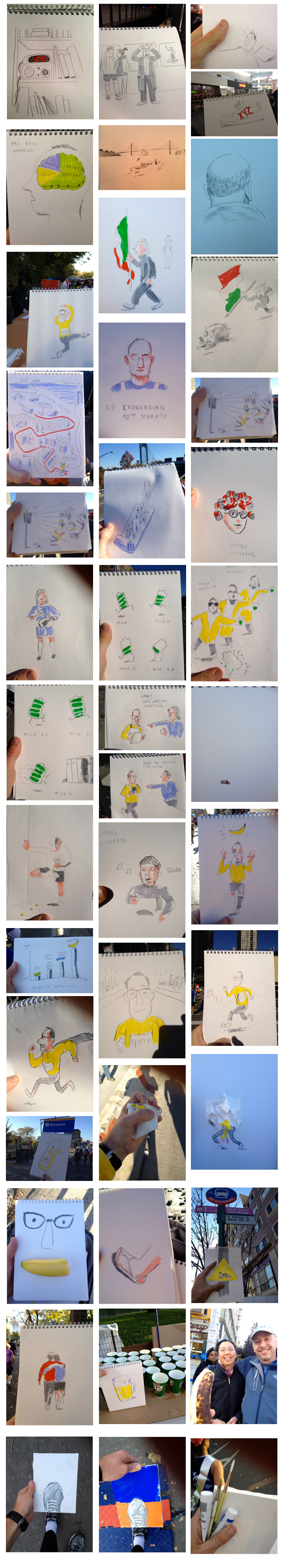 26.1 Miles, 45 Sketches :: Christoph Niemann