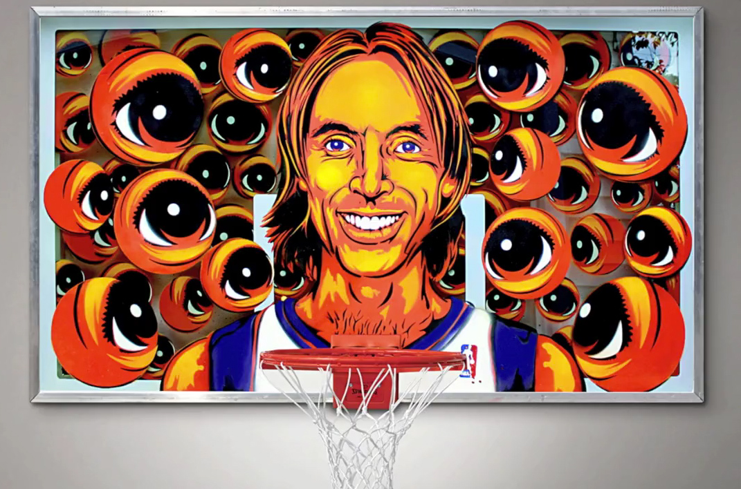 All EYEZ on Steve Nash :: by Peat Wollaeger