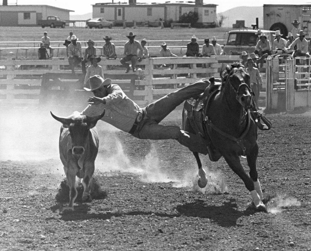 Carter Rogeron. Sonoita, Arizona. 1991. Louise Serpa :: Courtesy Tucson Rodeo Committee