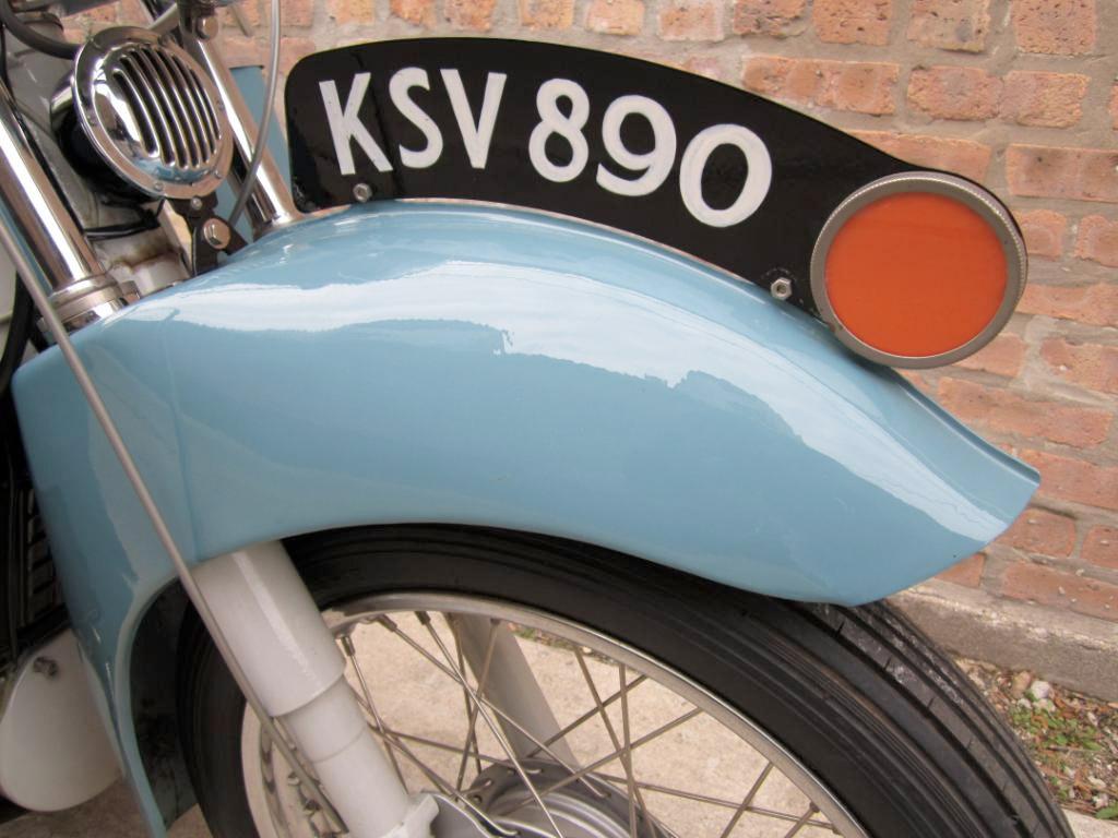 1957 Velocette LE 200 :: eBay Sale :: Throttle Yard (2)