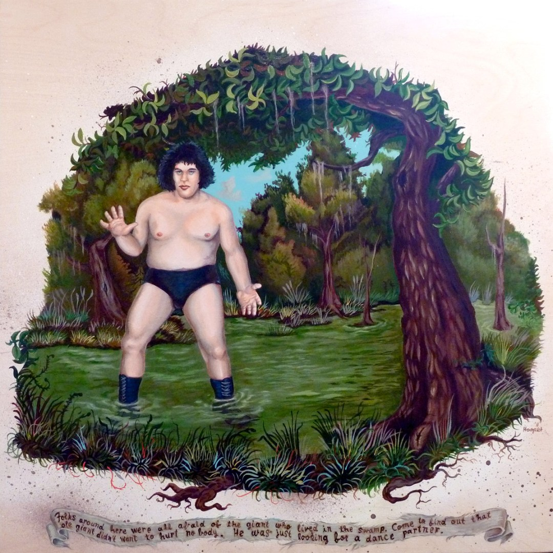 The Giant in the Swamp :: By Tim Hooper