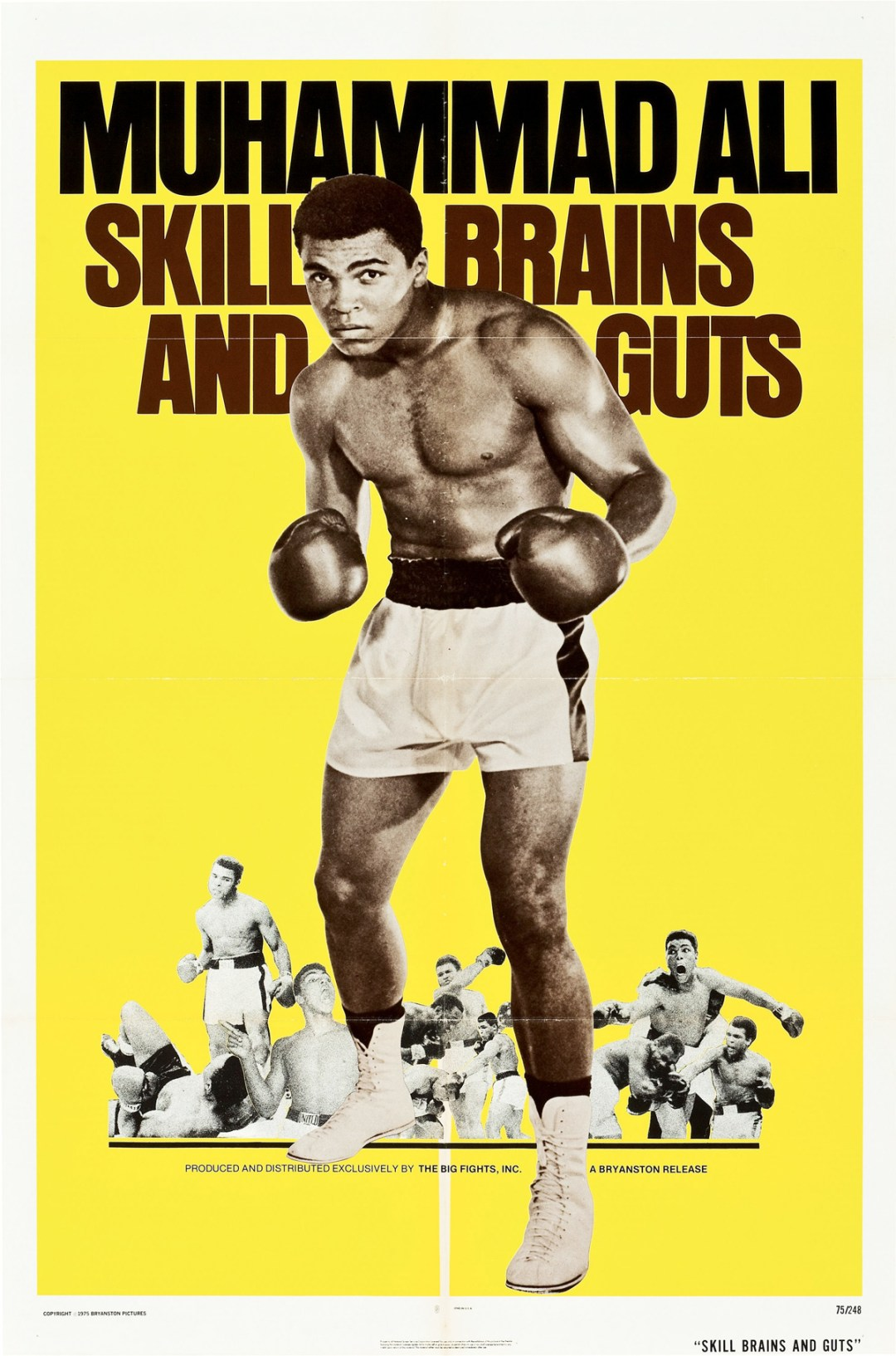 """Skill, Brains and Guts """"Muhammad Ali a.k.a. Cassius Clay"""" :: 1975"""