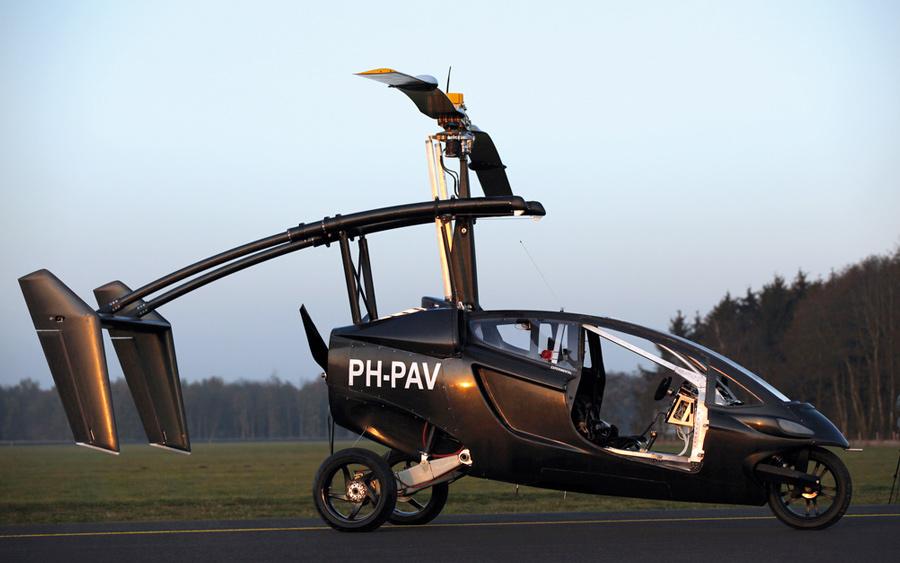 PAL-V :: Two Seat Hybrid Car and Gyroplane (8)