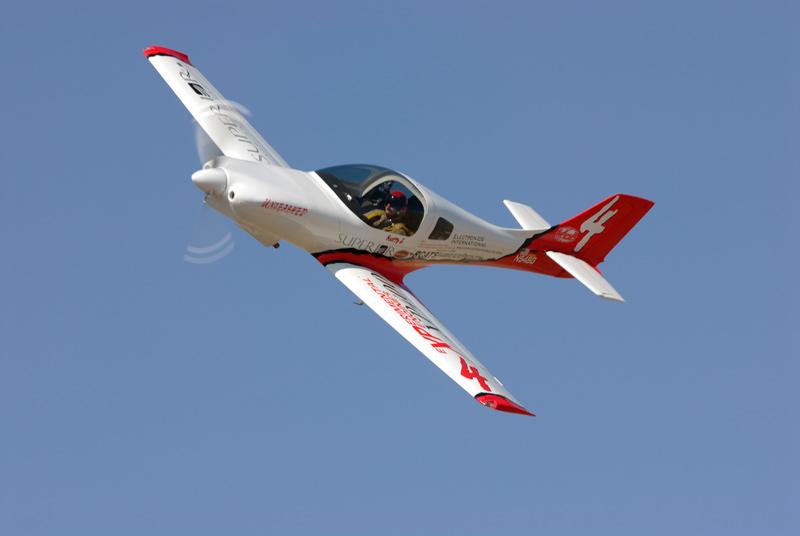Scott Germain in his Lancair 360 :: Reno Air Races
