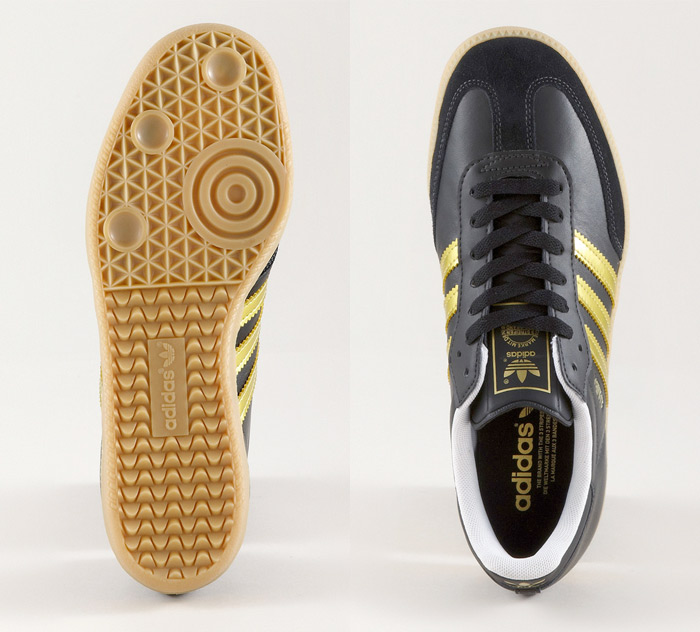 Adidas Sambas - Gold Stripes :: frontlineshop (3)