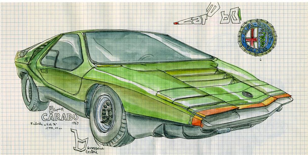 Alfa Romeo Centenary :: Les Illustrations de Lapin (2)