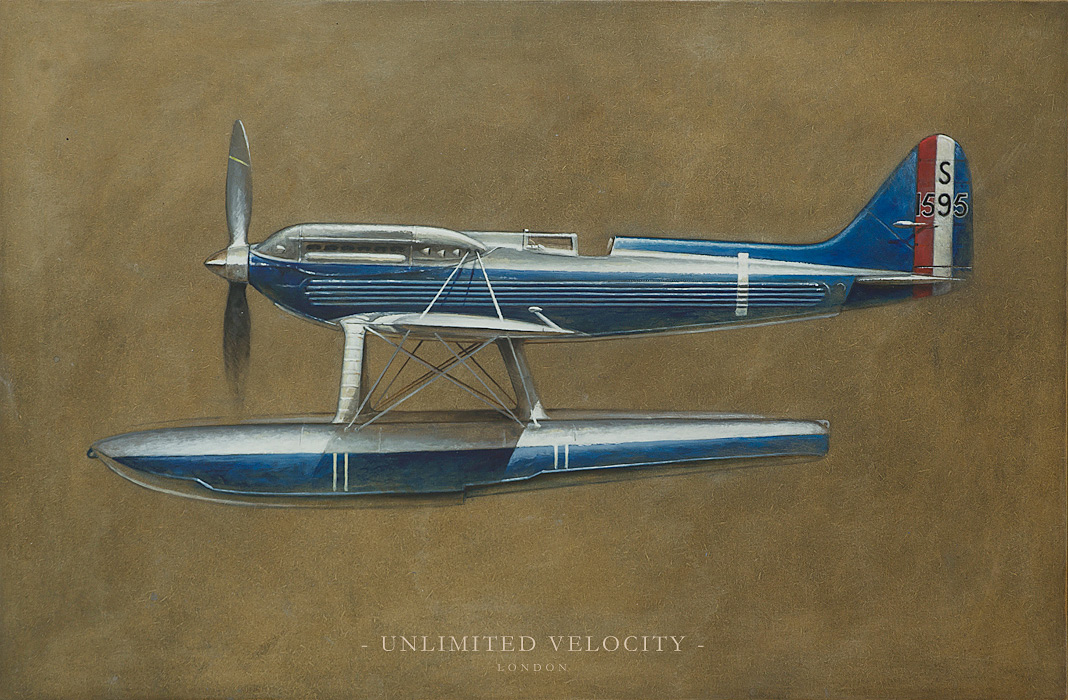 Reg Mitchell's Supermarine S.6B :: Unlimited Velocity (1)