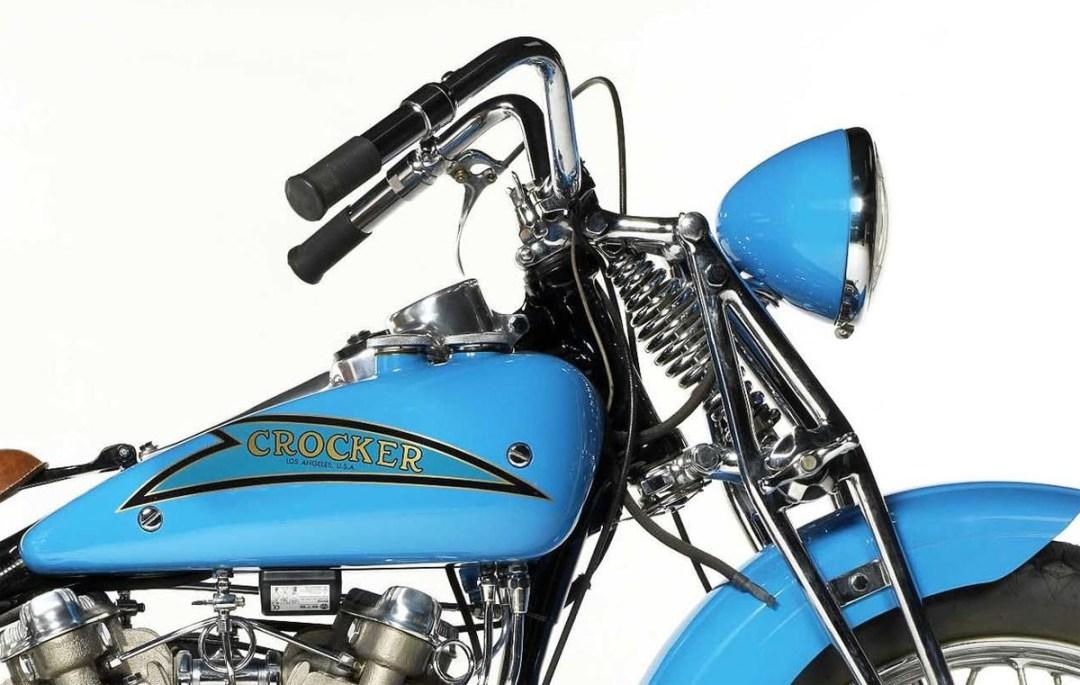 "1937 Crocker 61ci ""Hem-Head"" V-Twin Engine"