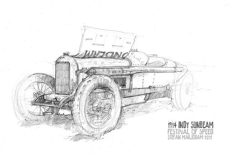 2012 Goodwood Festival of Speed :: Stefan Marjoram