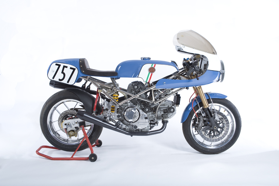 Walt Siegl – Ducati Monster Custom SC