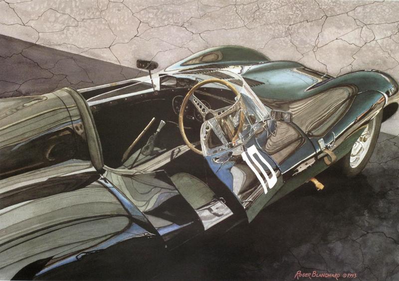 955 Jaguar Type D