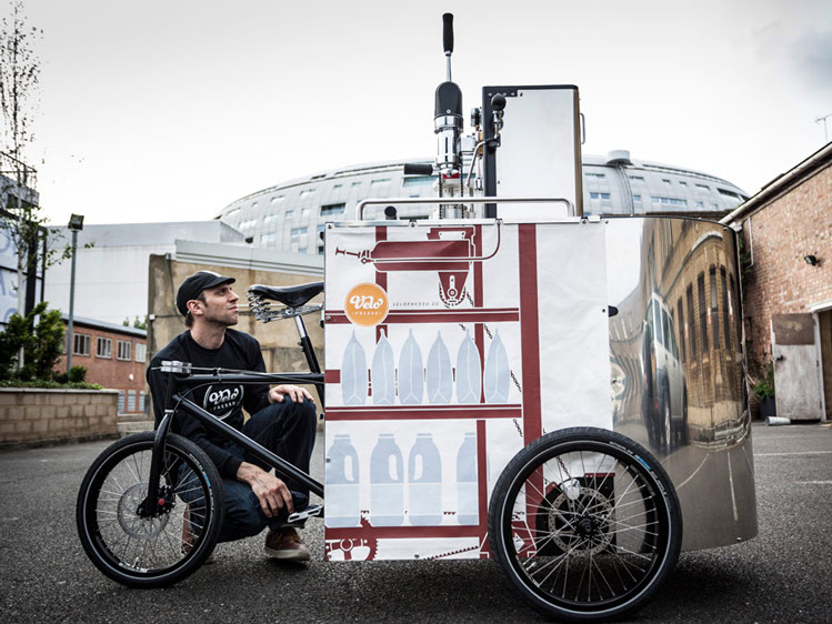 Velopresso :: Pedal Powered Expresso Stand (5)