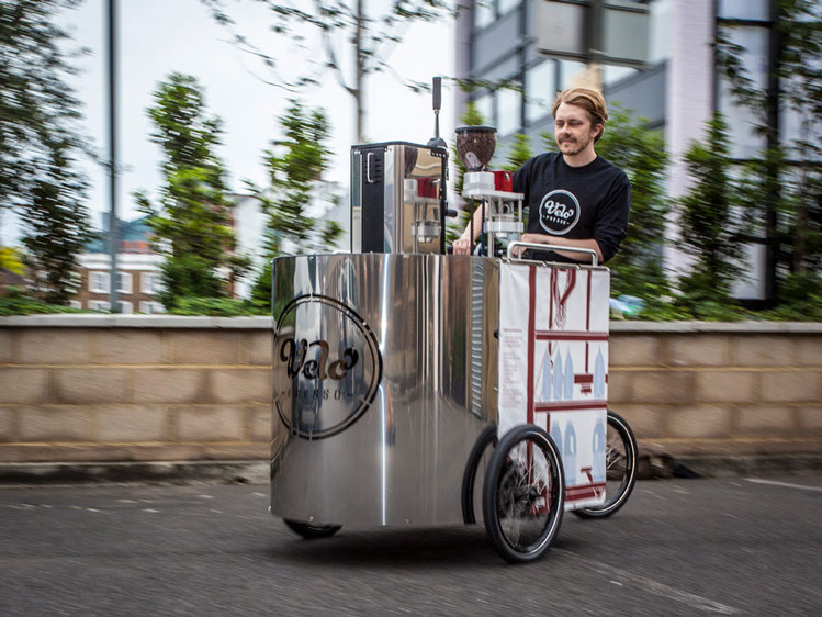 Velopresso :: Pedal Powered Expresso Stand (1)