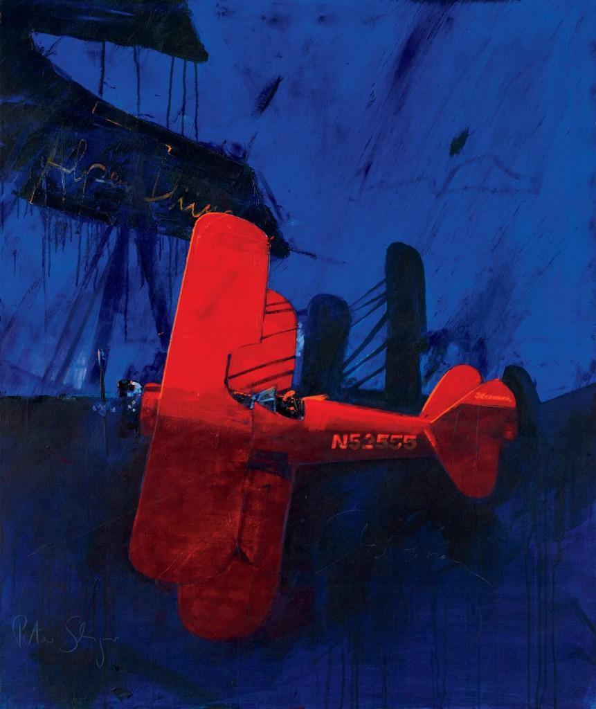 THE RED STEARMAN :: PETER SCHREYER