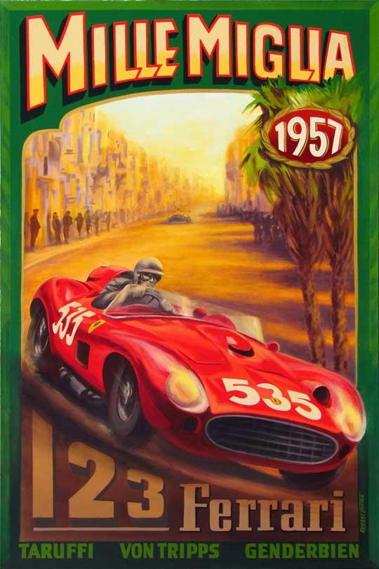 123 Ferrari Millie Miglia 1957