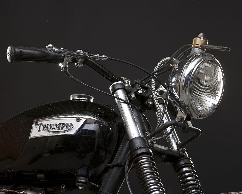 1978 Triumph 750 Bonneville 750CC T120 :: via The 1 Moto