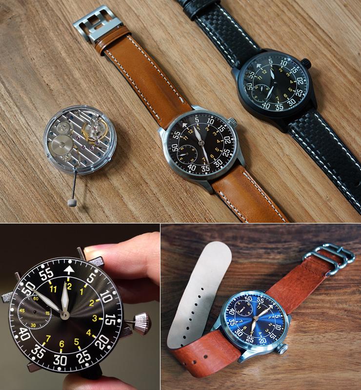 The Sunray Flieger Watch