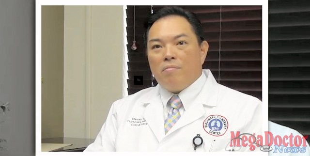 """Dr. Stanley Sy, Pulmonologist / Intensivist. September is """"Sepsis Awareness Month,"""" and educational information is available at Harlingen Medical Center about this life-threatening condition which is relatively unknown -- despite having affected killed millions of Americans, including several famous celebrities."""