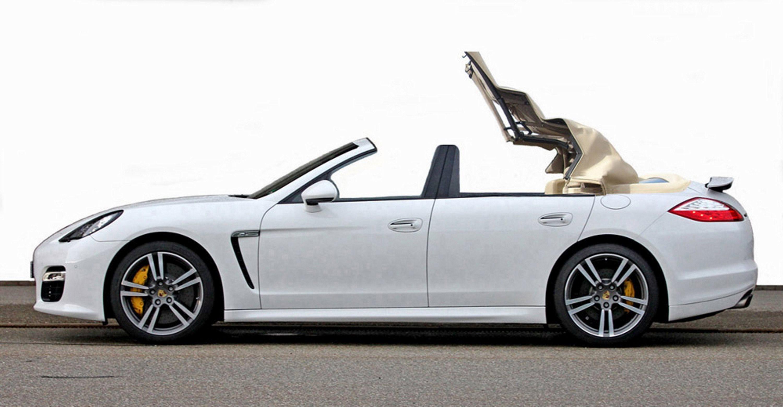 Porsche Panamera Convertible Mega Luxury
