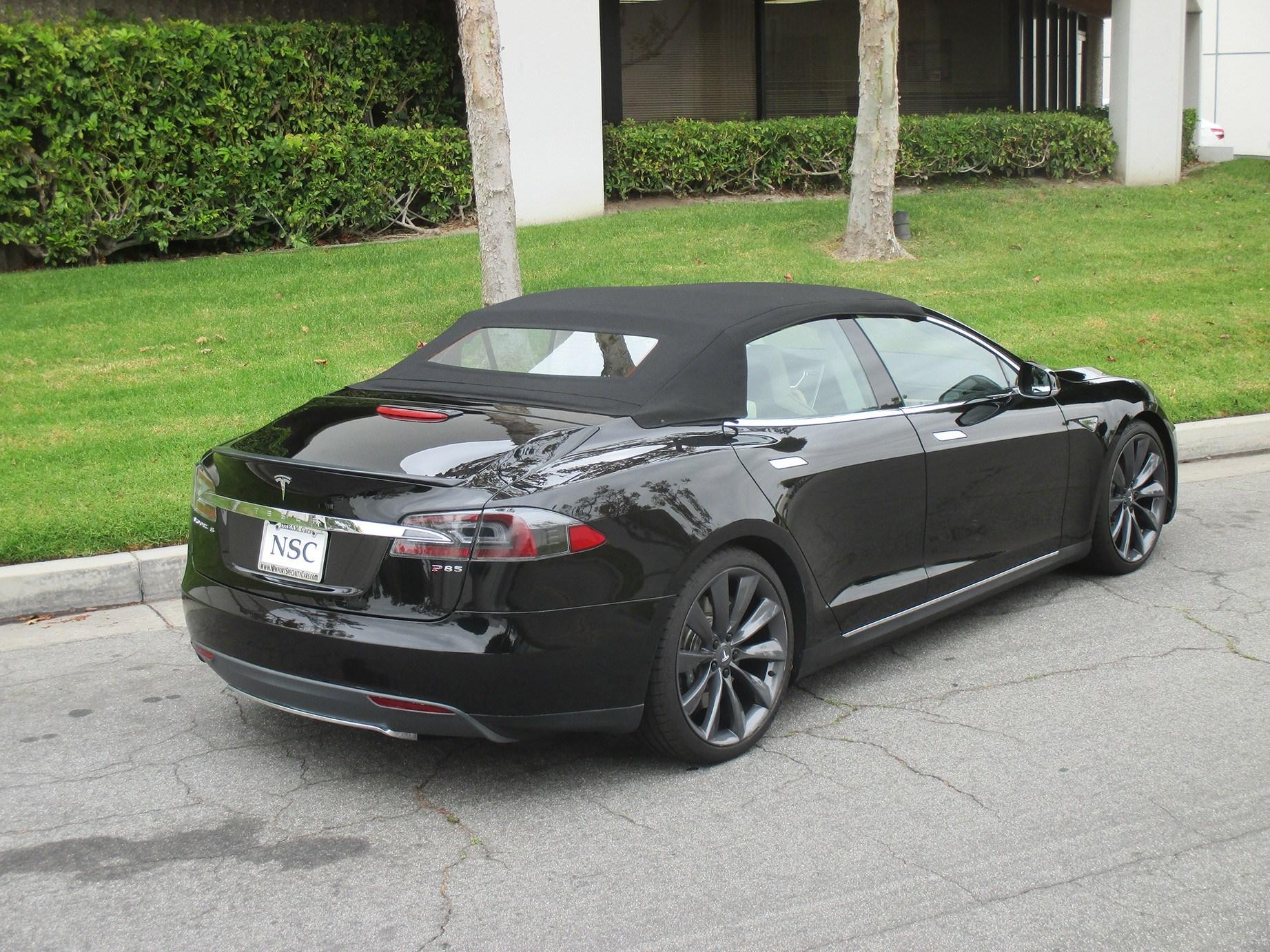 Tesla Model S Custom >> Tesla Model S Convertible Mega Luxury
