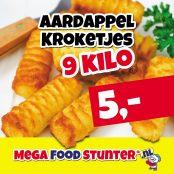 aardappel kroketjes, 9 kilo
