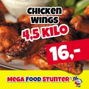 chicken wings 16 euro