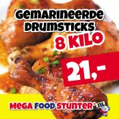 gemarineerde drumsticks