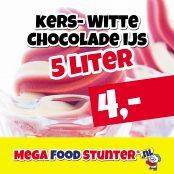 kers witte-chocolade ijs