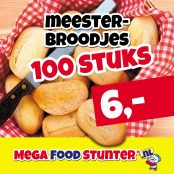 meesterbroodjes 100st