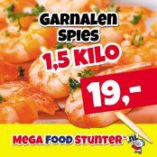 garnalen spies 1,5 kg