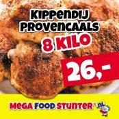 kippendij provencaals 8 kilo 26 euro