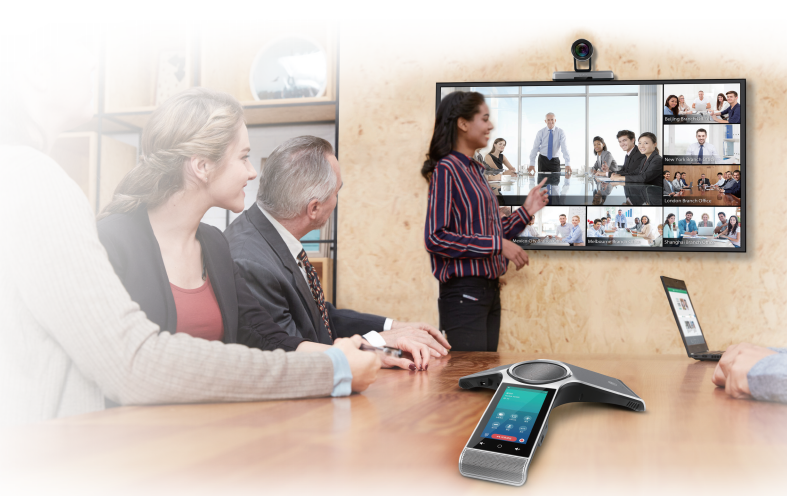 yealink vc500 video conferencing room