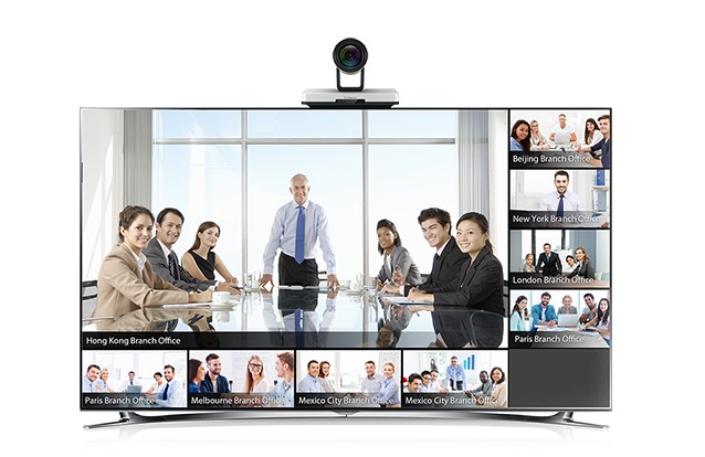 yealink vc400 video conferencing room