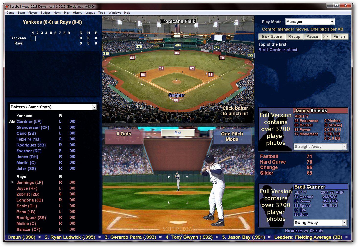 Demos PC Baseball Mogul 2013 Demo MegaGames