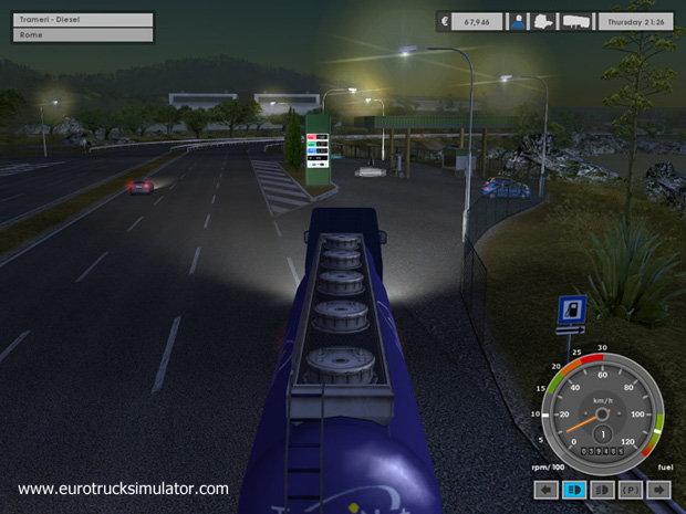 Demos PC Euro Truck Simulator Demo MegaGames
