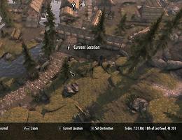 Game Mods The Elder Scrolls V Skyrim Map In Full 3D