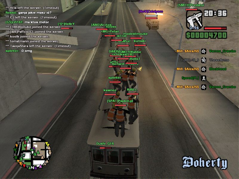 Game Patches Grand Theft Auto San Andreas Multiplayer 022 MegaGames