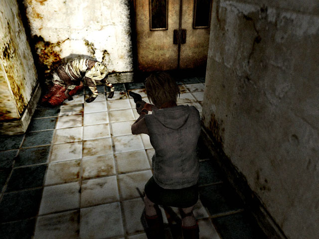 Image result for silent hill 3 gameplay