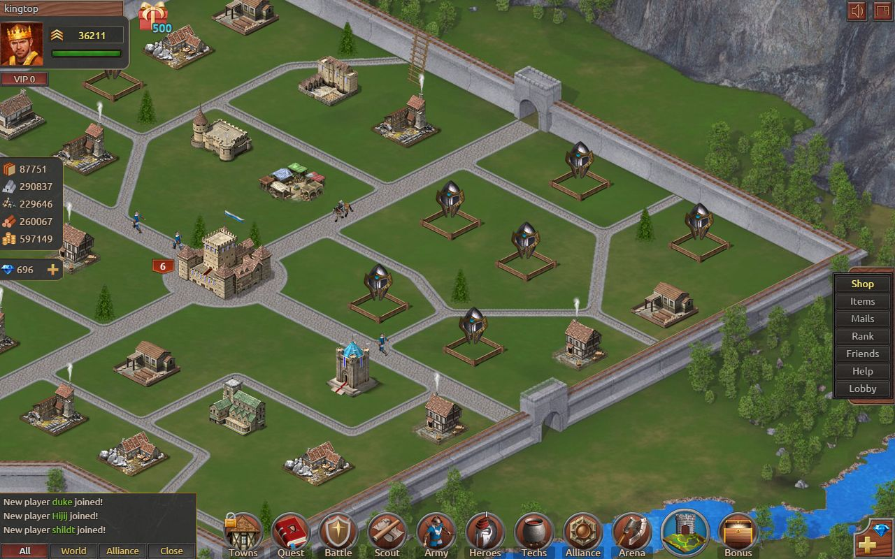 Freeware Freegame Castles And Kingdoms Age Of War Free Full Game MegaGames