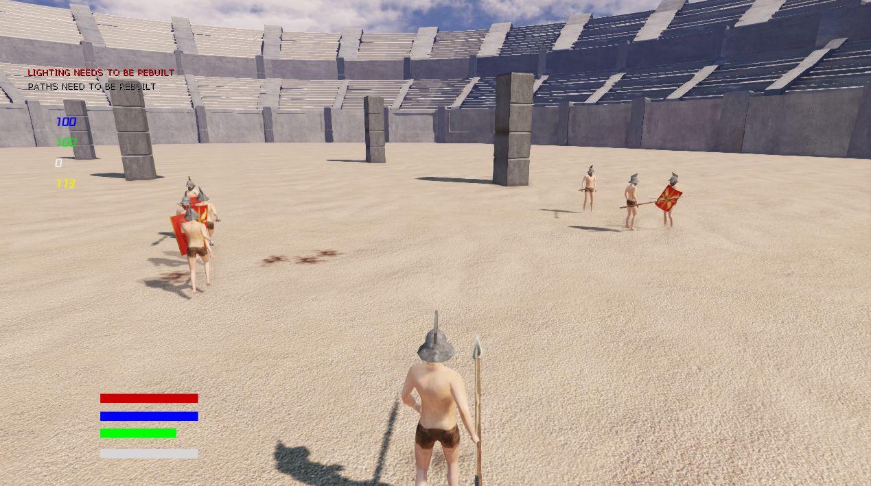 Gladiators Of The Arena Demo V05 Image Gallery MegaGames