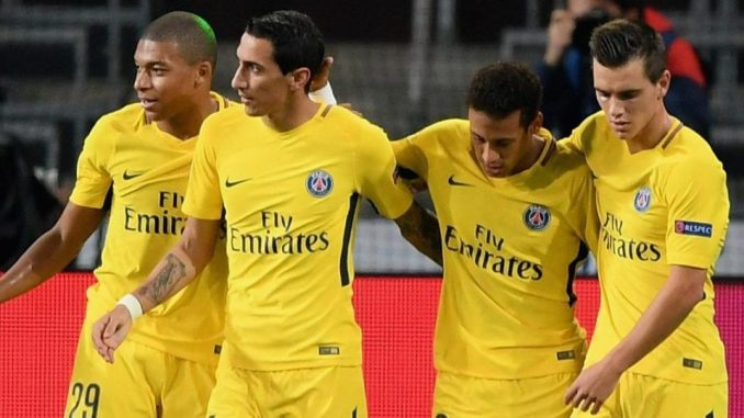 Image result for neymar mbappe di maria