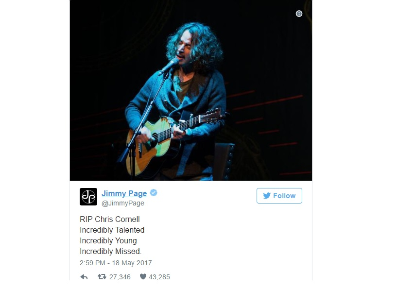 Chris Cornell (Jimmy Page tribute)