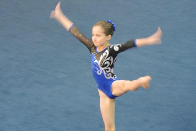 Judges' Cup 2011 Floor Leap - Level 5