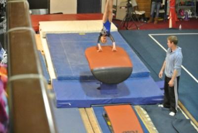 Judges' Cup 2011 Vault Handstand - Level 5