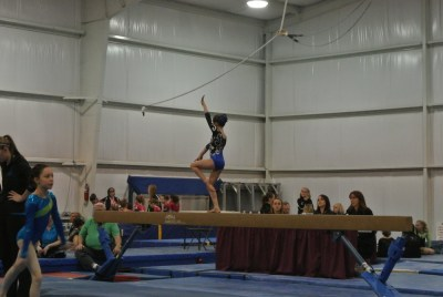 Ice Breaker Invitational 2012 Beam Pose - Level 5